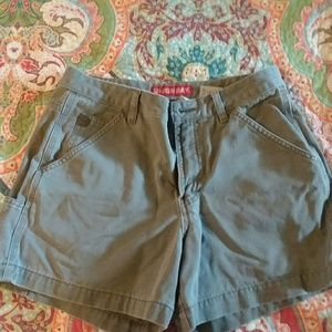 Unionbay gray/green shorts